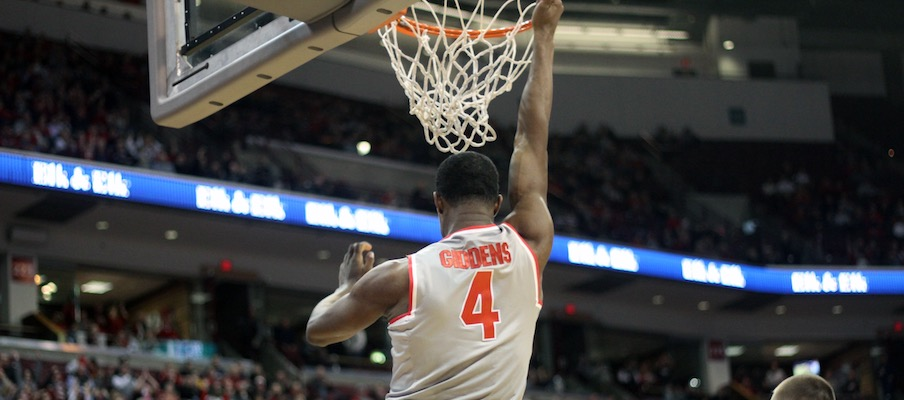 Daniel Giddens throws down at Ohio State.