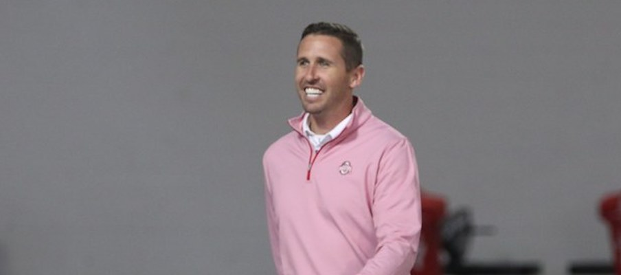 wide receivers coach Brian Hartline