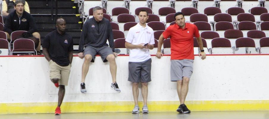 Chris Holtmann and coaches