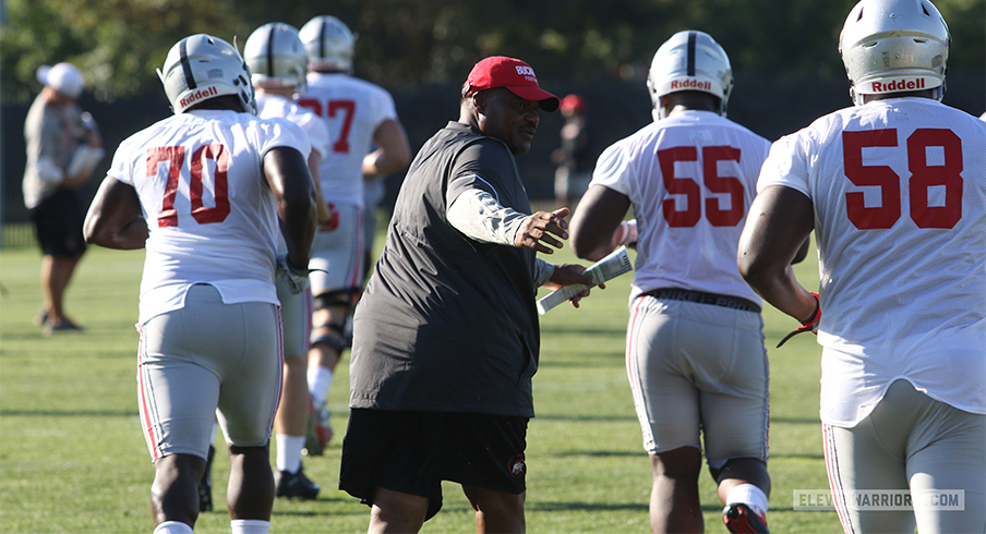 Retaining Defensive Line Coach Larry Johnson Was One of the Biggest Offseason Wins for Ryan Day