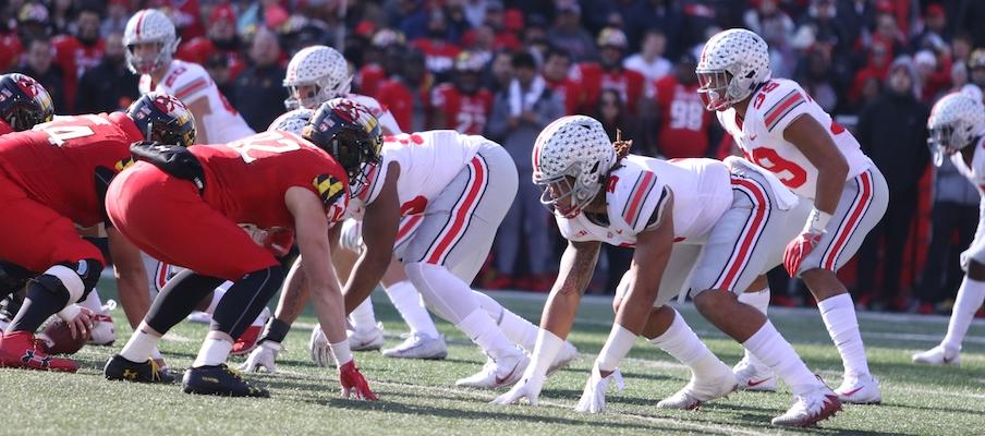 Ohio State's defensive front