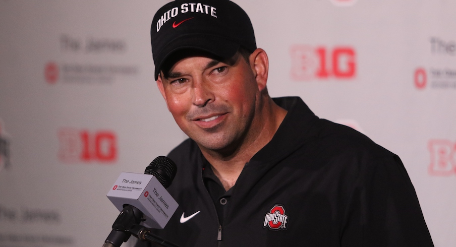Ryan Day Reviews Ohio State's First Big Ten Win over Indiana, Looks Ahead to Non-Conference Finale Against Miami on Buckeye Roundtable