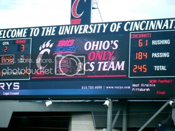 Ohio's only BCS team.