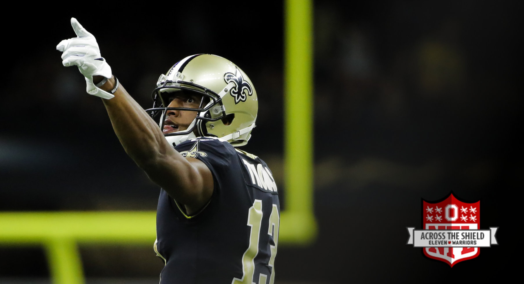 Across the Shield: Michael Thomas Shows Why He Can't Be Guarded and Jamarco Jones Shines in His First Start at Guard Against the League's Best
