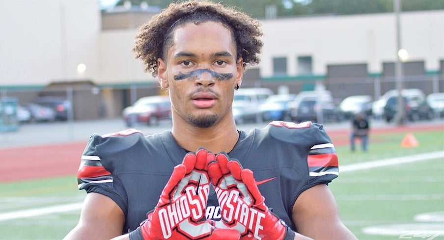 Filled with Star Potential, Emeka Egbuka Not Deterred by Buckeyes' Deep WR Room As They Continue Their Impressive Recruitment of Him