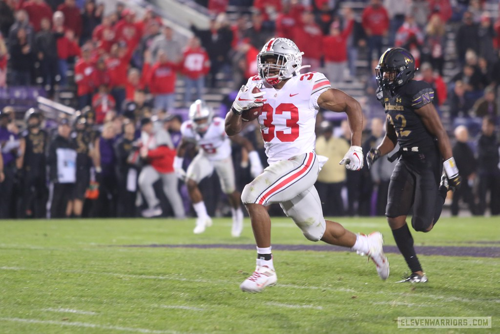 Master Teague Rumbles For Big Yardage Again, Proving Importance Behind J.K. Dobbins