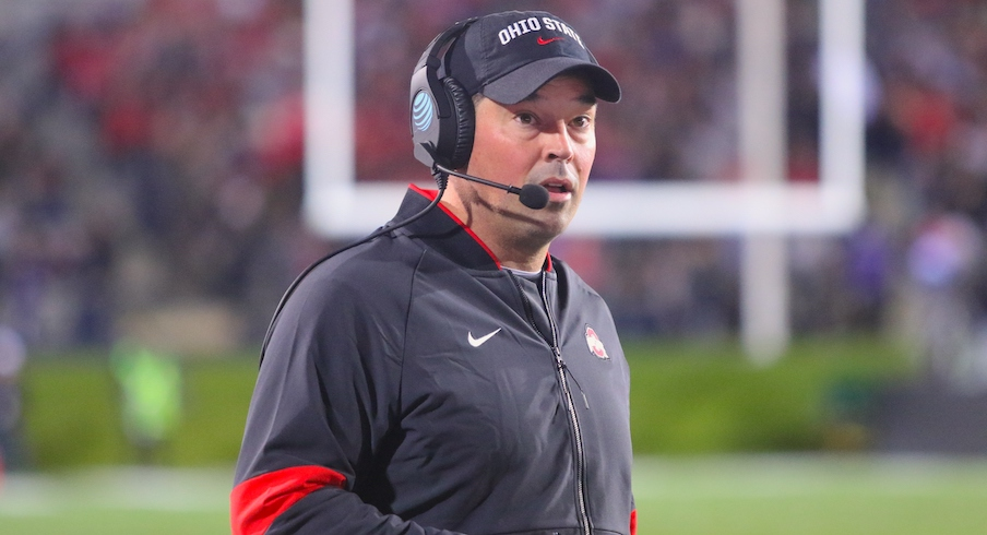 Ryan Day Reviews Ohio State's Blowout Win at Northwestern and Previews This Week's Game Against Wisconsin