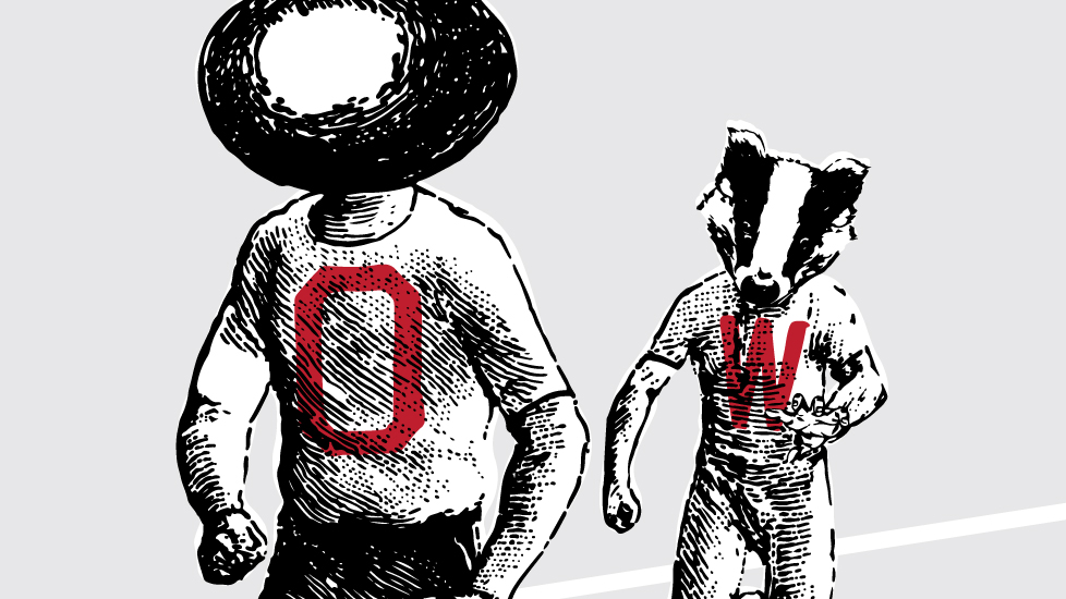 Hot Off The Press: Wisconsin Game Poster