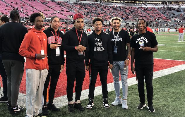 Buckeyes' future receivers