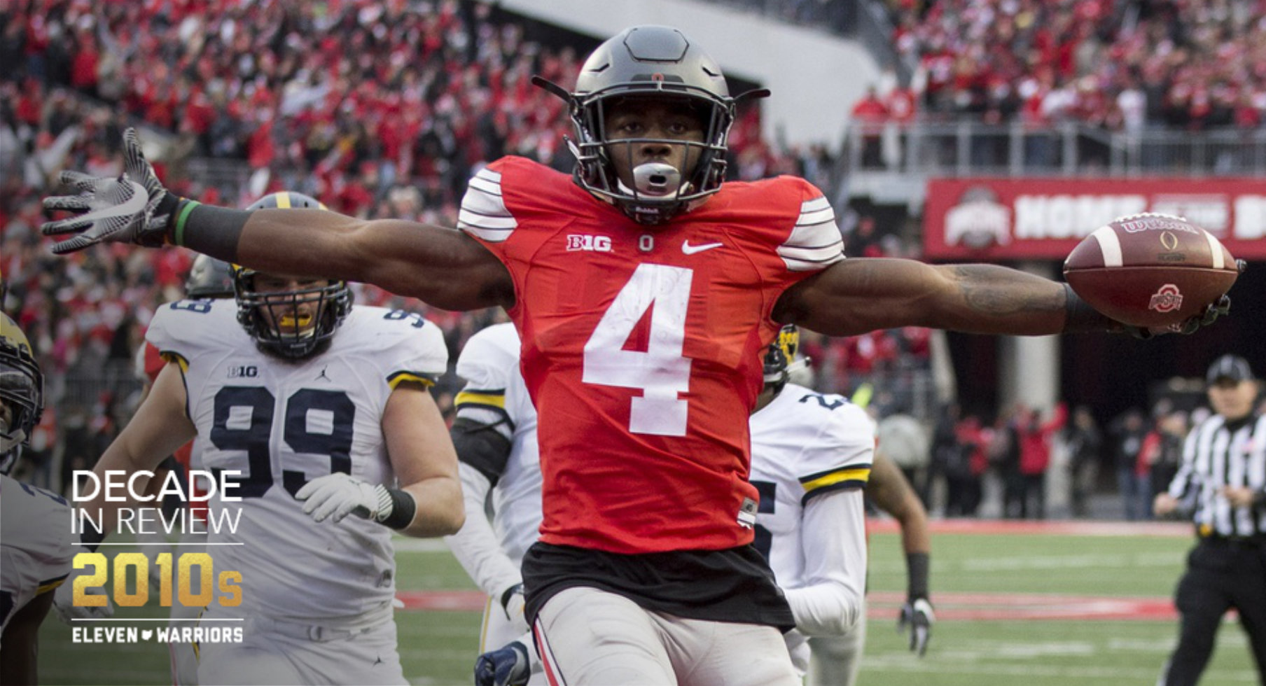 Decade in Review: Ranking Ohio State's Top 10 Plays Against Michigan From 2010-19