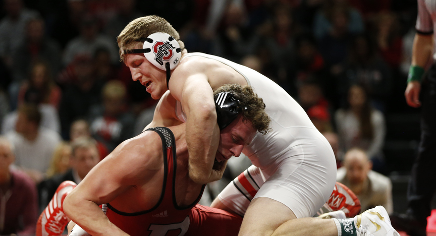 Wrestling Preview: No. 4 Ohio State Hits the Road to Challenge No. 8 Wisconsin In A Madtown Showdown