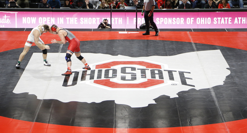 Wrestling Preview: No. 4 Ohio State Hosts Illinois to Cap Weekend of Big Ten Competition