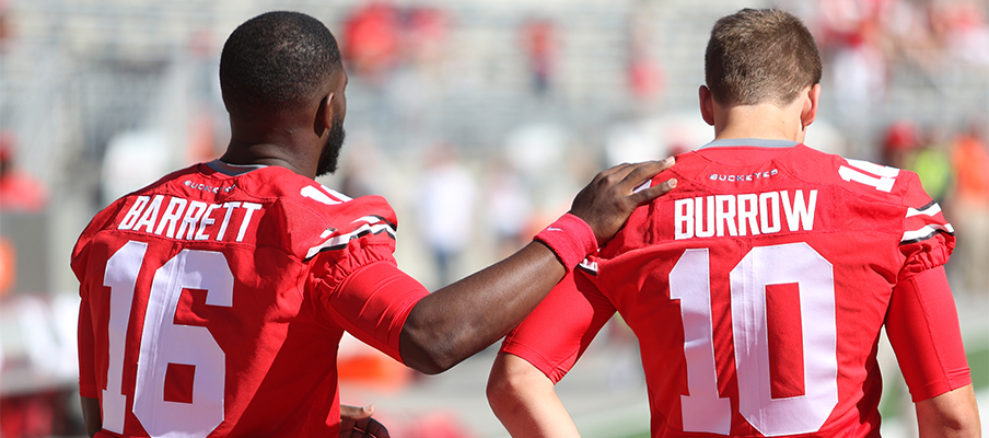 2015 signee Joe Burrow was mentored by J.T. Barrett during his time in Columbus.
