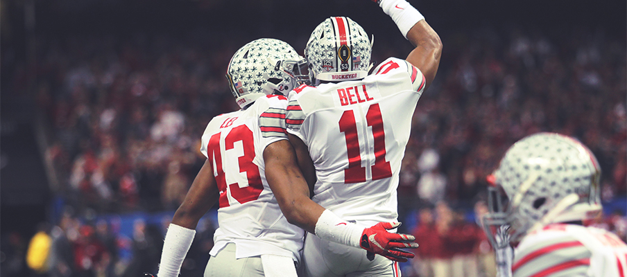 Vonn Bell and Darron Lee helped to lead Ohio State to a Sugar Bowl win over Alabama.