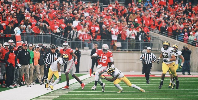 cardale vs. Michigan 2014