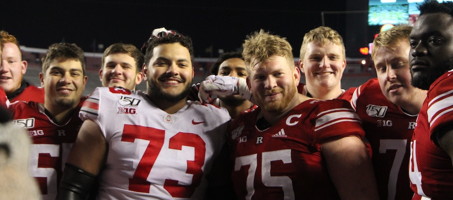 Jonah Jackson and his former Rutgers teammates