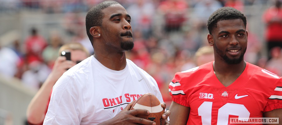 Troy Smith and J.T. Barrett