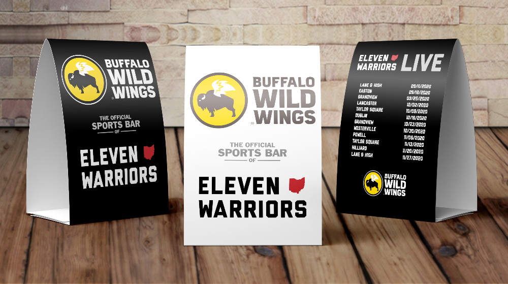 the official sports bar of eleven warriors