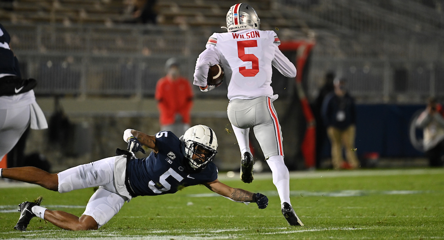 Garrett Wilson had a monster game at Penn State
