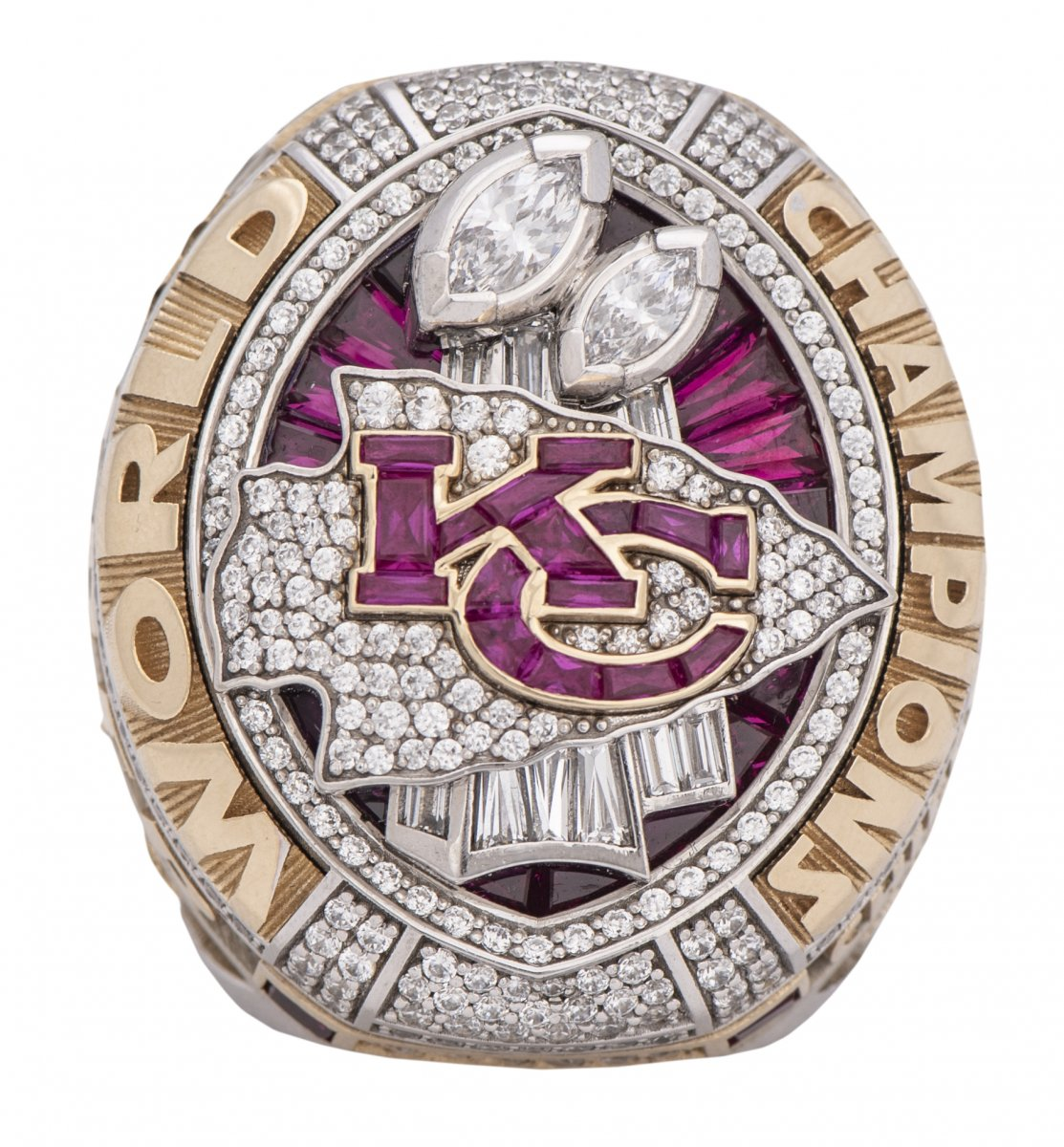 Mike Weber's ring