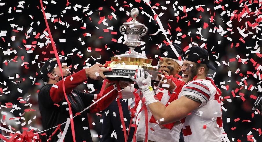 The Buckeyes are champions