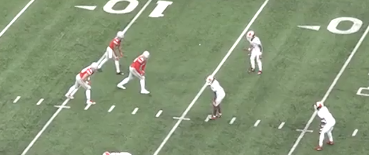 Indiana defends the bunch with one deep safety