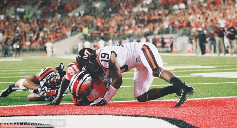 the 2014 Ohio State-Virginia Tech game, which was bad