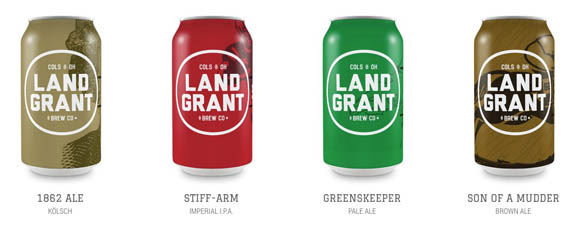 Tasty suds provided by Land Grant Brewing Co.