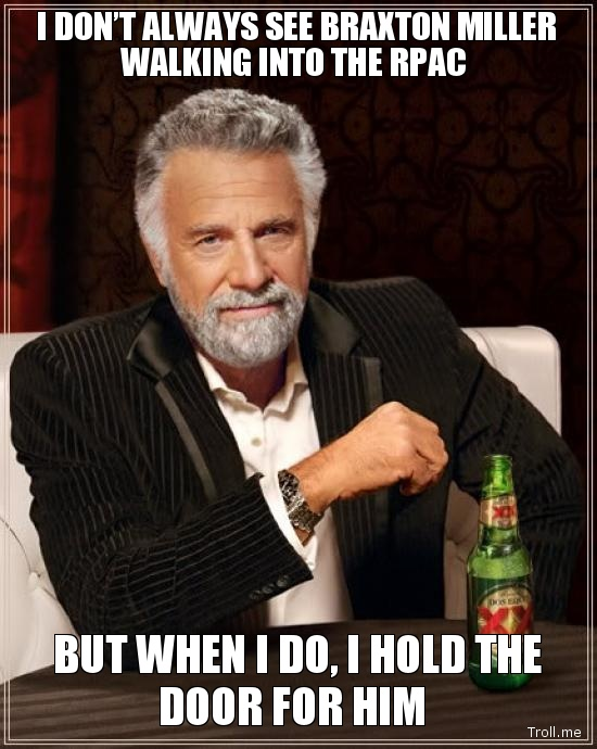 So says The Most Interesting Man on Facebook...