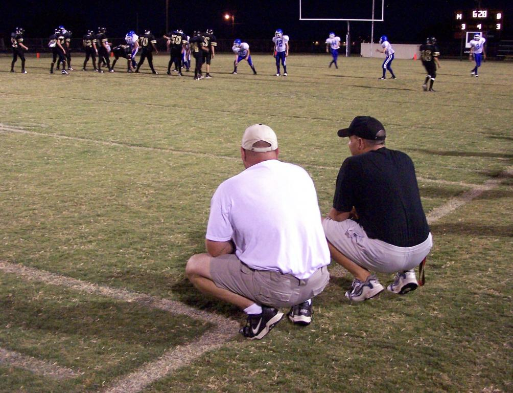 Coaching at this level is all about love of the game...