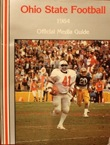 Keith Byars is off to the races against Pitt on the cover of the 1984 Buckeye media guide
