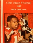 Keith Byars is a superstar on the cover of the 1985 Ohio State football media guide