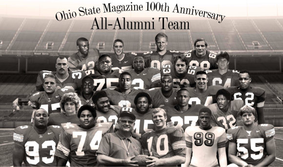 Ohio State Alumni Magazine All-Alumni Team