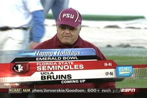 "Nothing says ""Emerald Bowl"" like Bobby Bowden"