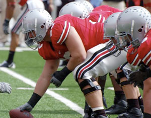 Will 2009 bring a dominant Buckeye offensive line?