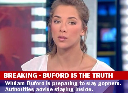 William Buford is the truth