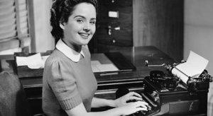 a 1950s secretary