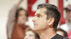 Jim Harbaugh is after two of his former assistants while at Stanford.