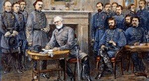 General Lee bends the knee.