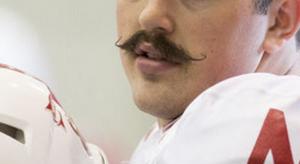 Nice mustache.