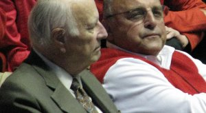 Barry Alvarez, maybe high right now.