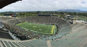 Autzen in the lead-up to the game