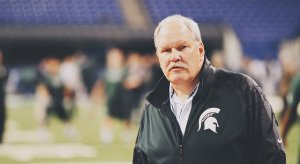 Jim Bollman at the 2013 Big Ten title game.