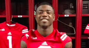 Jordan Stevenson during happier times at Wisconsin.