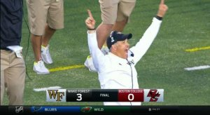ACC football, baby! Feel the excitement!