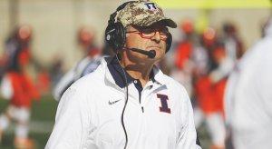 Illinois Interim Head Coach Bill Cubit