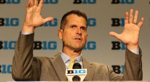 Jim Harbaugh considering holding part of Michigan's spring practice in Florida.