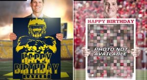 Rutgers stealing Harbaugh's graphics!!!