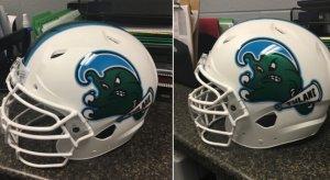 Tulane New Helmets