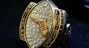 Florida State gave its football team Florida state championship rings Monday.